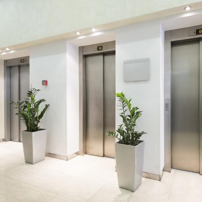 エレベーターホール工事